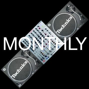 Vinyl DJ Setup Månedsleje