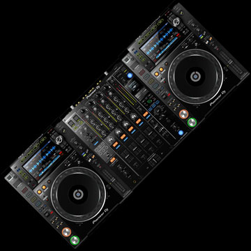 CDJ-2000 Nexus 2 DJ Bundle